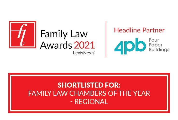 Family Team shortlisted for Regional Family Law Chambers of the Year